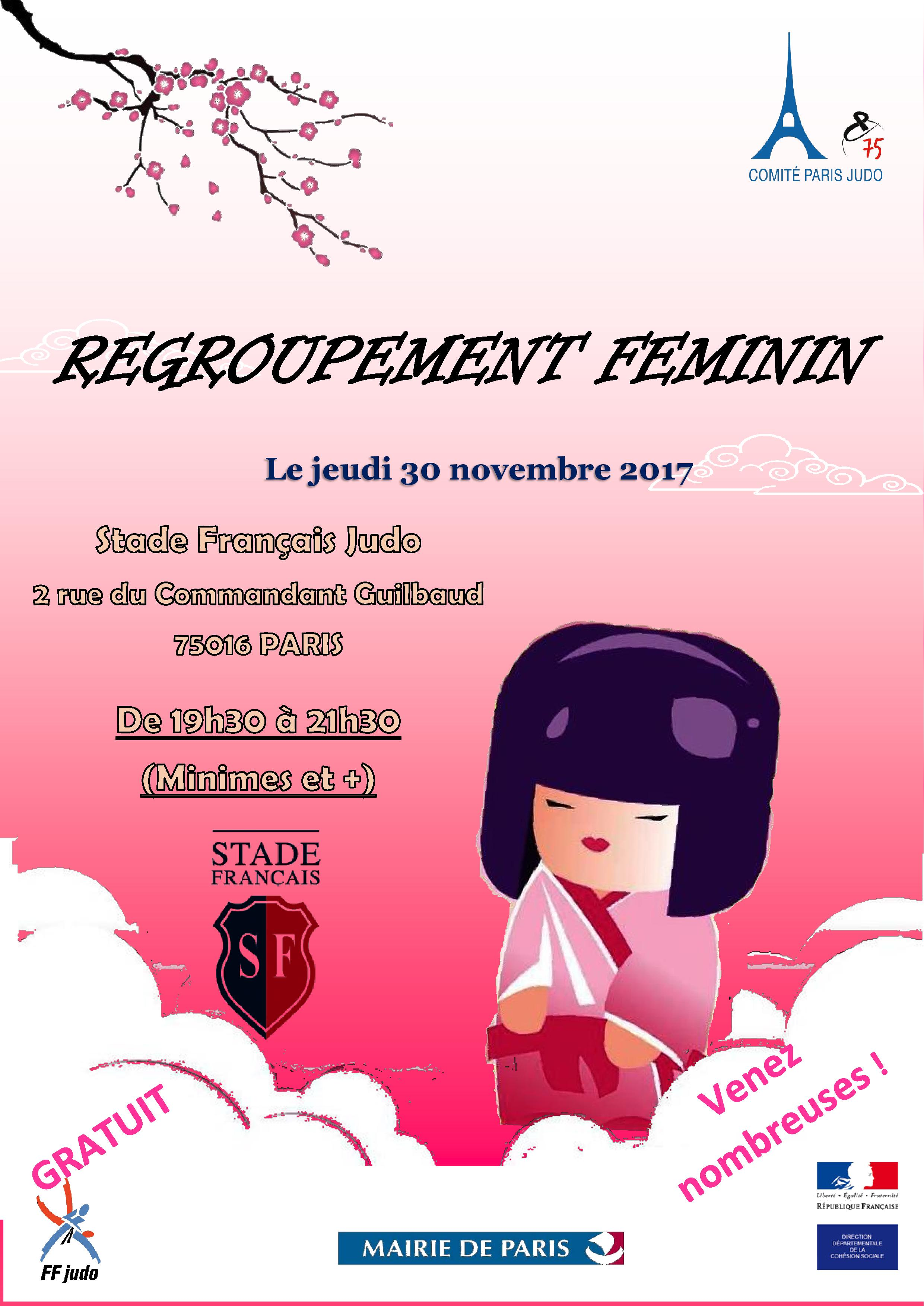 REGROUPEMENT FEMININ